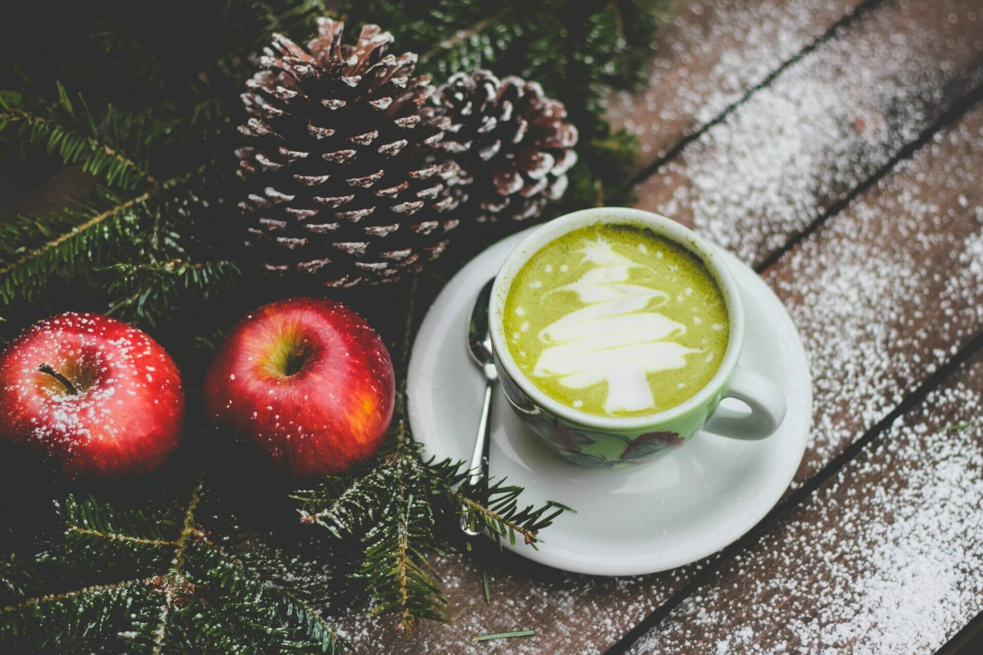 comer sano en Navidad