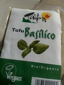 Tofu a la albahaca