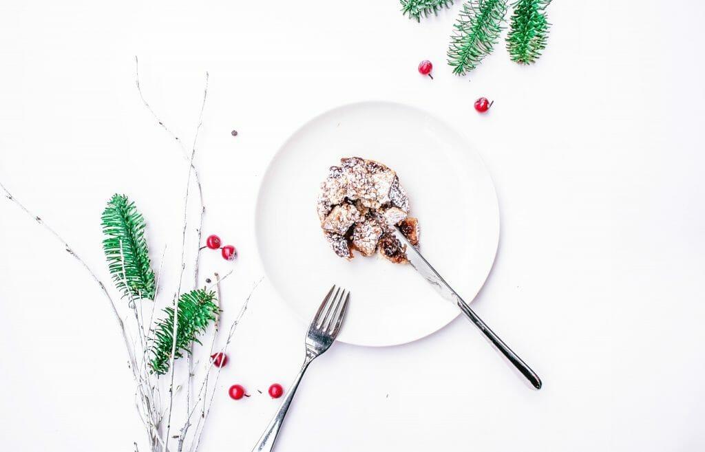 disfrutar comiendo en Navidad