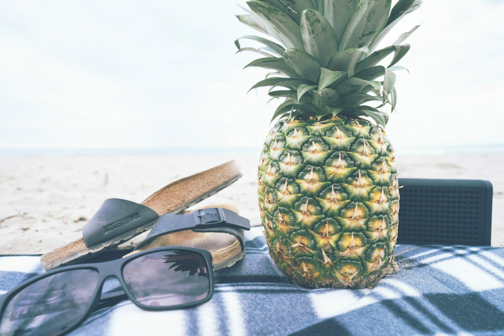 Alimentación saludable mientras viajas